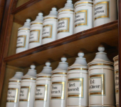 ANCIENT APOTHECARY OF LODEVE'S HOSPITAL