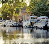CANAL DU MIDI AU SAINT CHINIAN TOURIST OFFICE