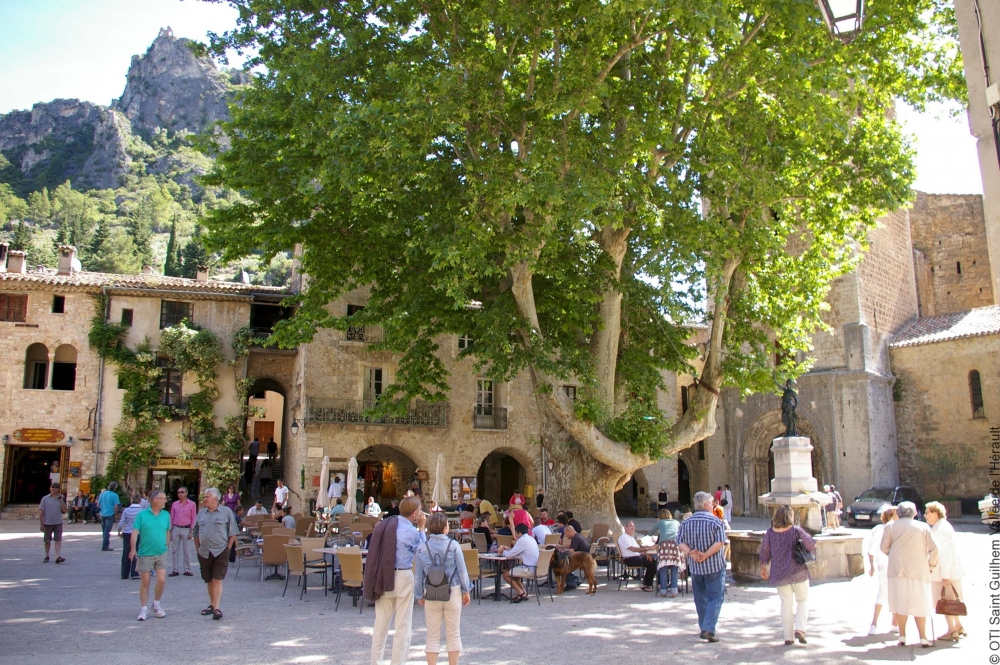 Saint guilhem le desert vallee de l 39 herault tourist - Les carroz d arrache office du tourisme ...