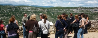 Cirque de Navacelles vu depuis la Baume Auriol
