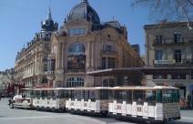 Petit train touristique de Montpellier
