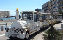 Petit train touristique de Sète